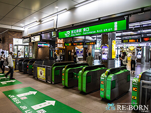 JR 恵比寿駅 東口のイメージ