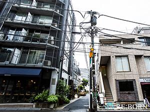 恵比寿店」前のイメージ